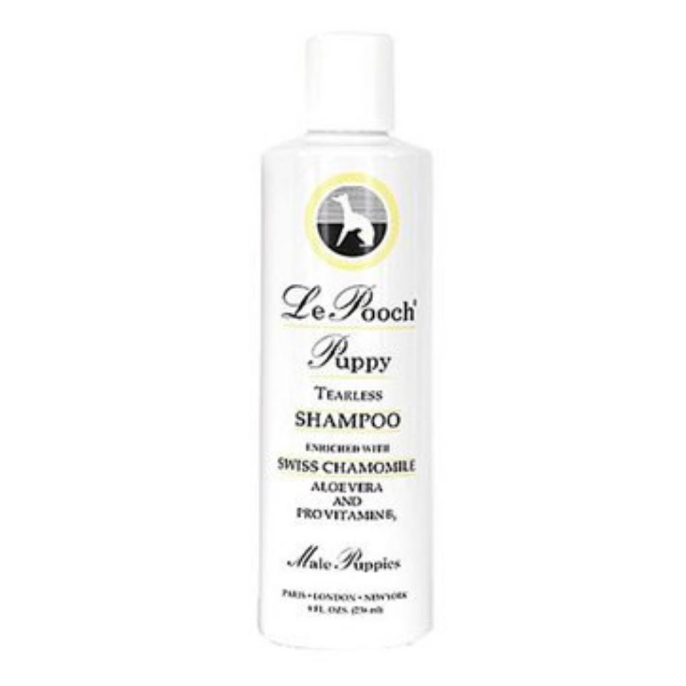 les pooch male 16 oz puppy shampoo