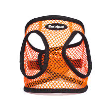Orange Netted EZ Wrap Bark Appeal Dog Harness