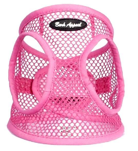 Pink Netted EZ Wrap Bark Appeal Dog Harness