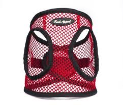 Red Netted EZ Wrap Bark Appeal Dog Harness