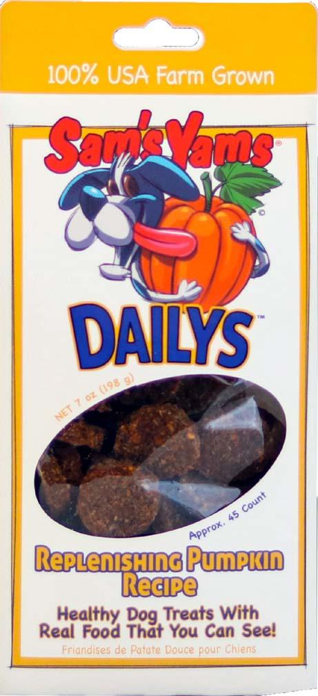 sams replenising pumpkin Dog Treats