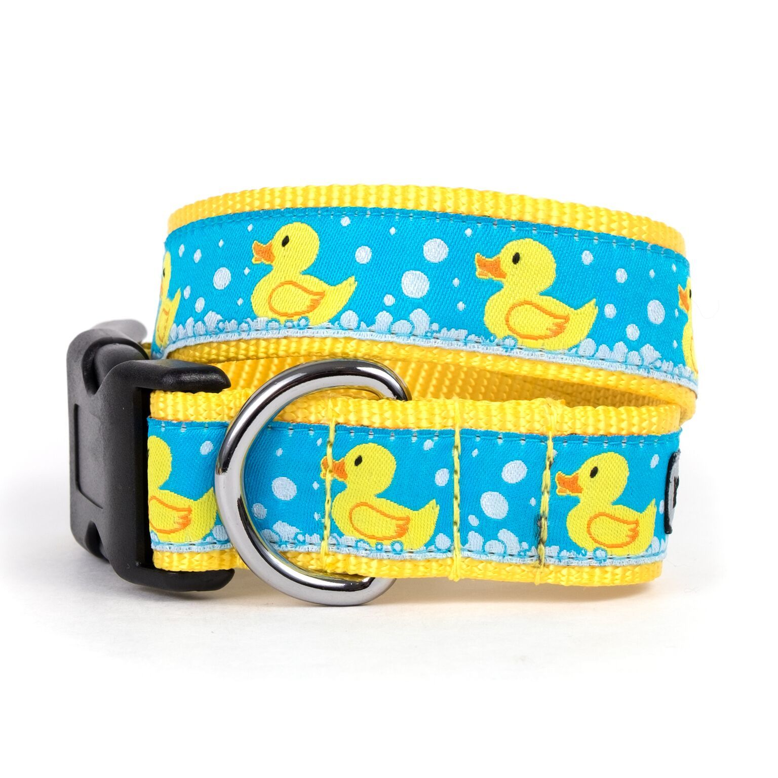 Worthy Day Rubber Ducks Dog Collar