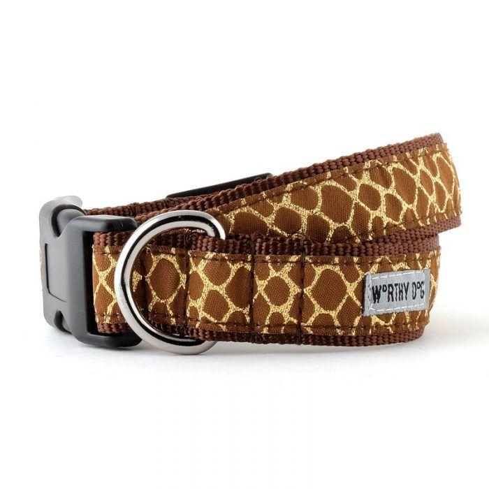 Worthy Dog Giraffe Dog Collar