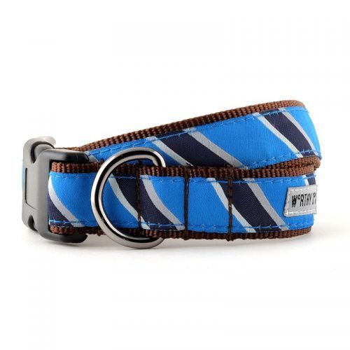 Worthy Dog Prep School Blue Dog Collar