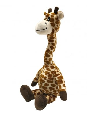 Fab Dog Floppy Giraffe Dog Toy