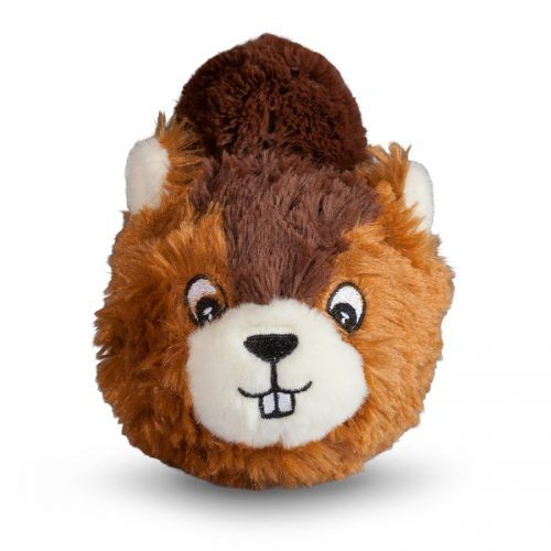 Fab Dog Beaver Faball squeaky dog toy