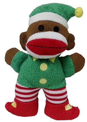 twinkle elf baby sock monkey by lulubelles