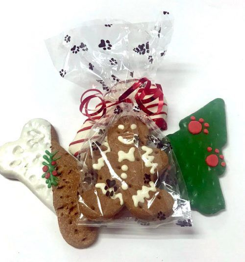 Claudia's Canine Bakery holiday dog cookie treats