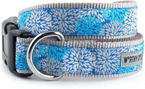 MUMS THE WORD DOG COLLAR BY WORTHY DOG