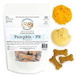 Bobby Bambi Artisan Pumpkin Peanut Butter Dog Biscuits