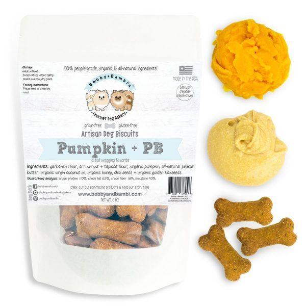 Bobby-Bambi-Artisan-Pumpkin-Peanut-Butter-Dog-Biscuits