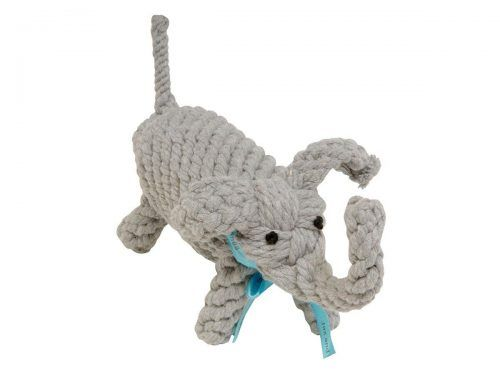 rope dog toy - elephant
