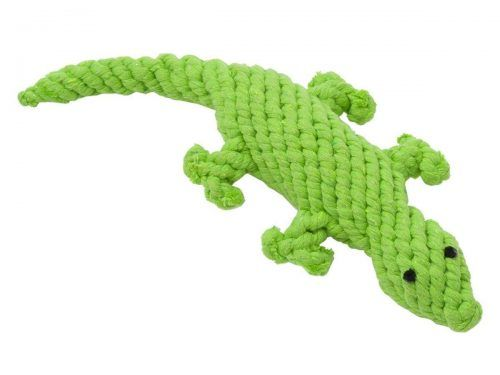 rope dog toy lizard