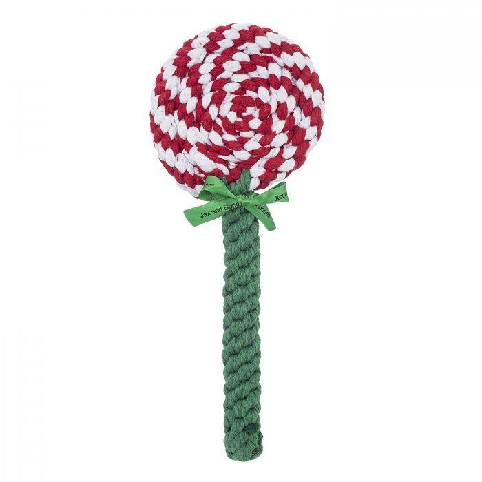 rope dog toy lollilpop