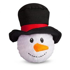 Fab Dog Snowman Faball Squeaker Dog Toy