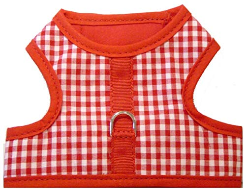 Hook and loop vest dog harness