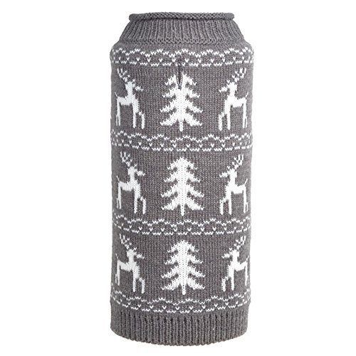Woodlands-Reindeer-Roll-Neck-Sweater-Dog-Sweater