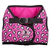Worthy Dog Pink Cheetah Dog Harness