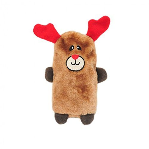 Zippy-Paws-Holiday-Colossal-Buddies-Reindeer-Dog-Toy